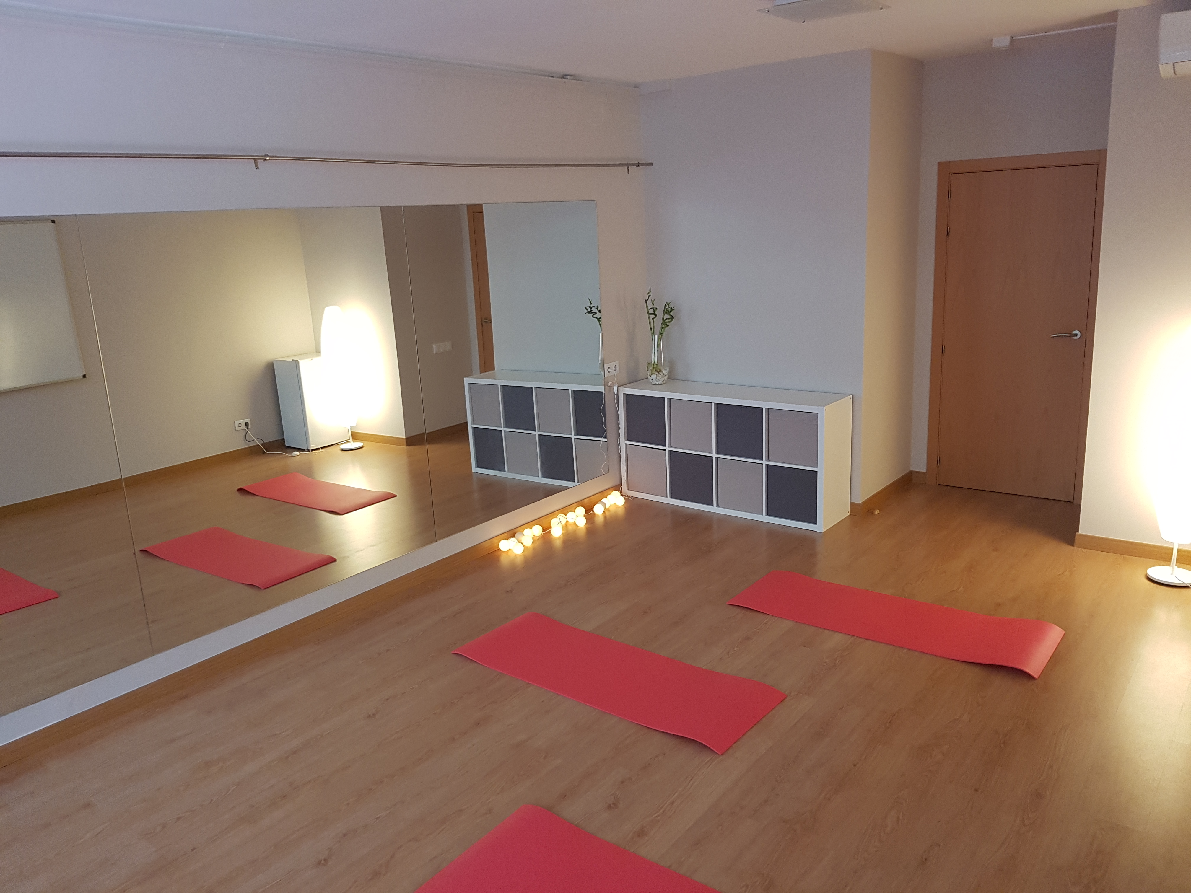 Sala del centro para pilates