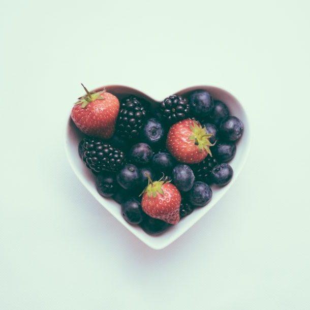Bol de frutas saludables